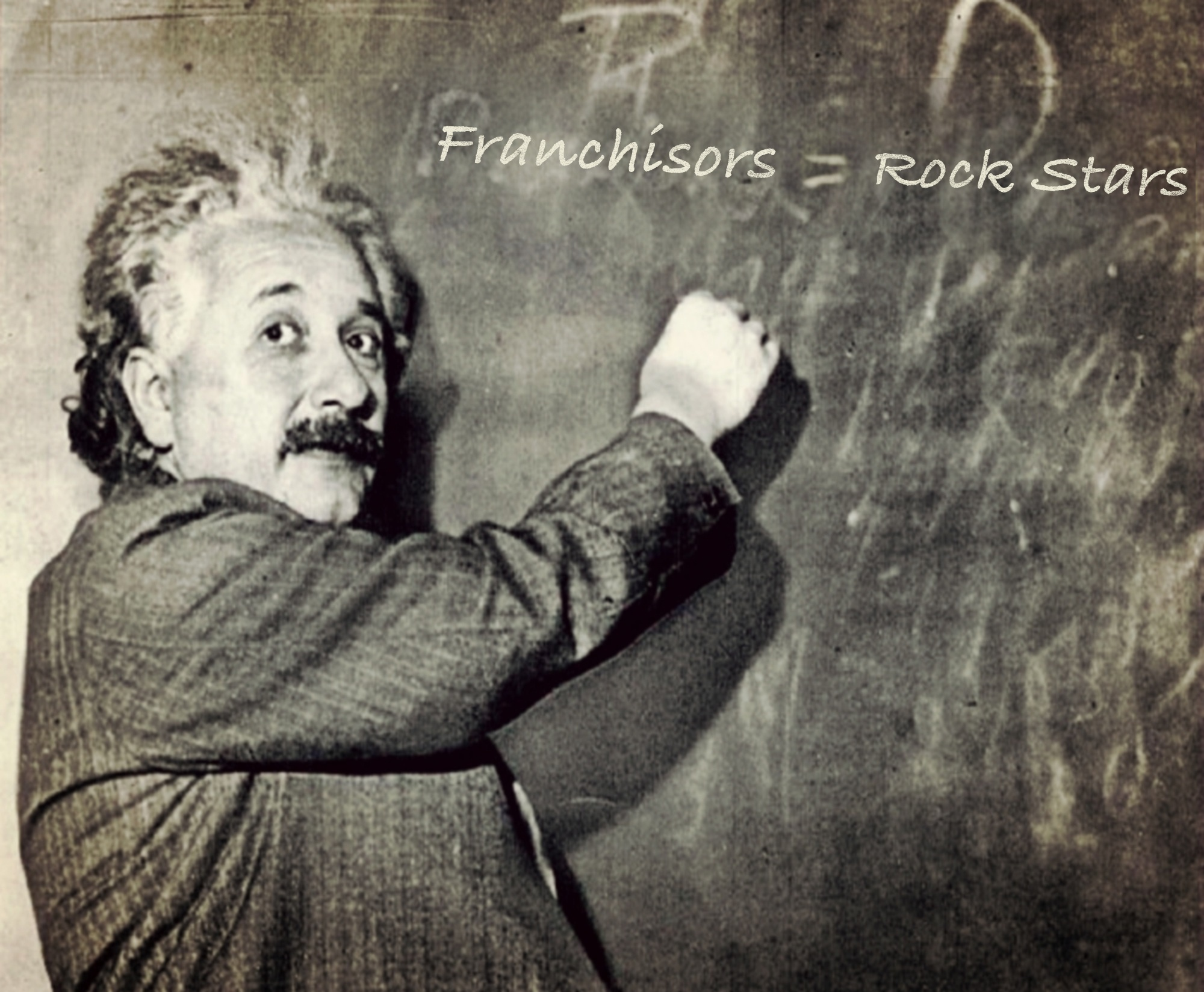 Einstein Says Franchisors Equal Rock Stars
